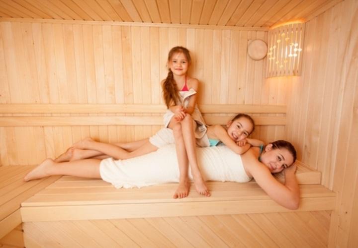 Pravidla pro saunování s dětmi